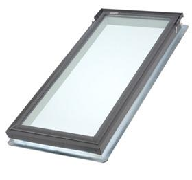 Fixed curb for Cleaning velux skylights